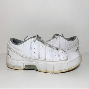 Jordan TE 2 Advance GS White Leather Youth 6Y